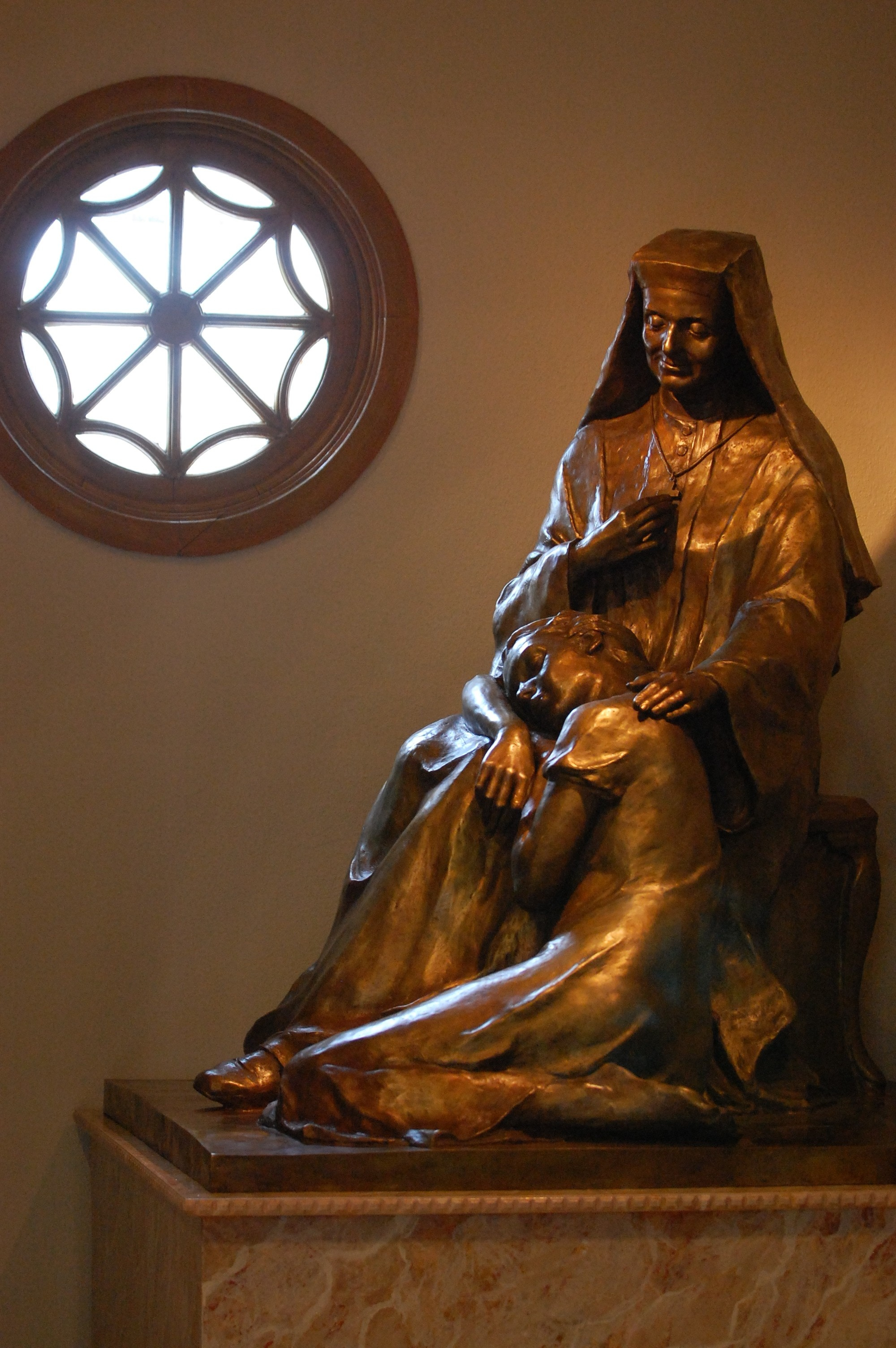 Statue of St. Leonie Aviat