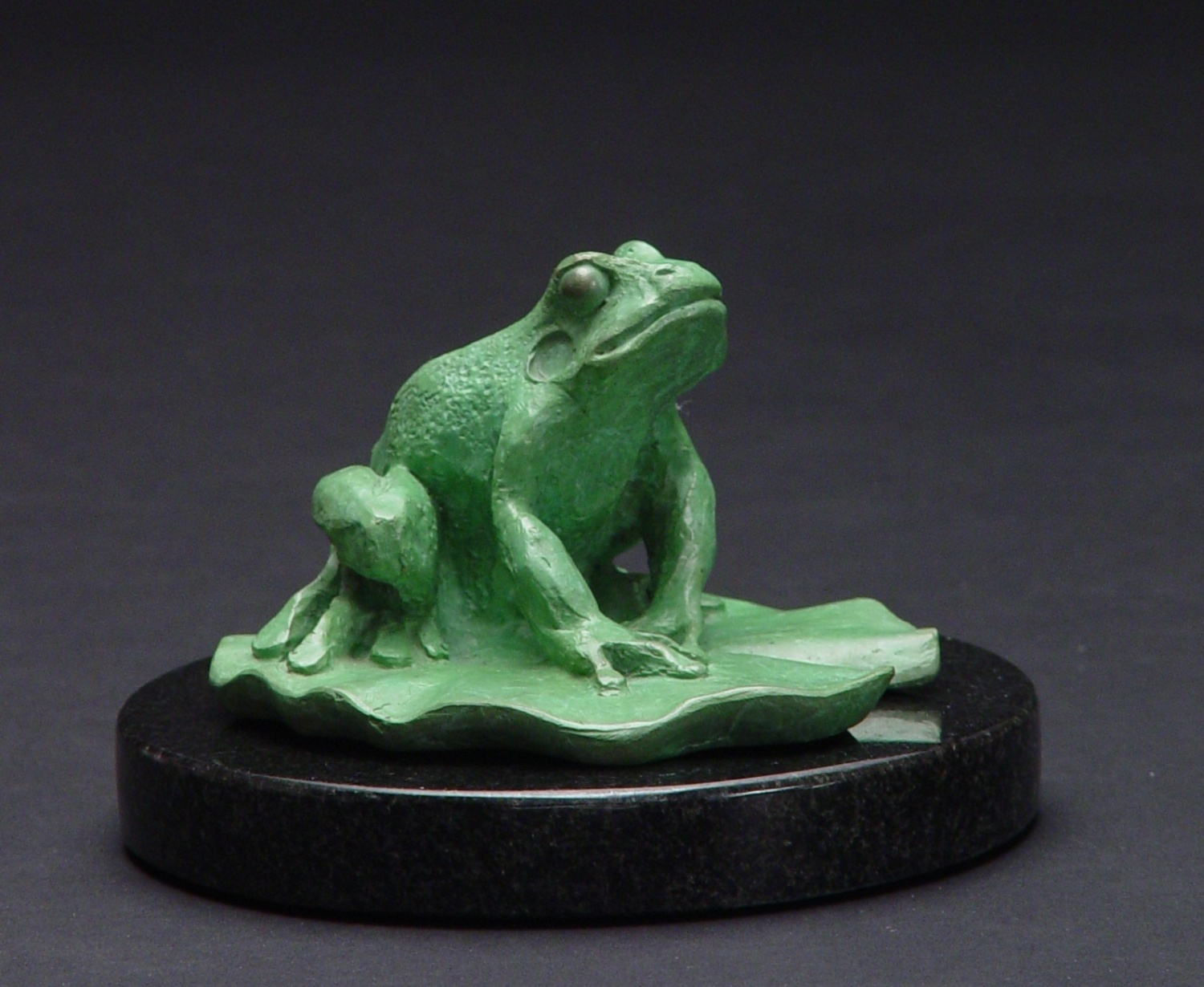 Frog, Bronze, 4inches high